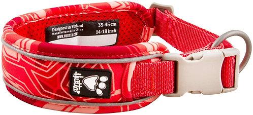 Hurtta Weekend Warrior Collar Coral Camo 35-45cm