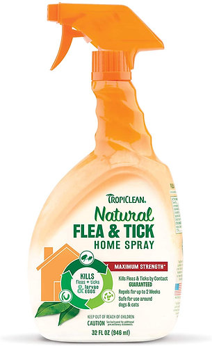 Tropiclean Flea and Tick Spray for Home 946ml