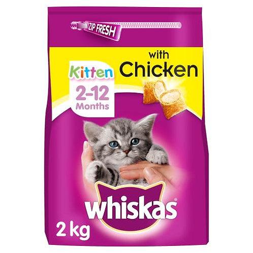 Whiskas 2-12 Month Kitten Chicken 2kg