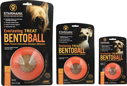Starmark Bento Ball Chew Treat Toy
