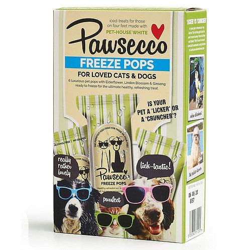 Woof & Brew Pawsecco Freeze Pops - Cat & Dog Treat (6 x 50ml)