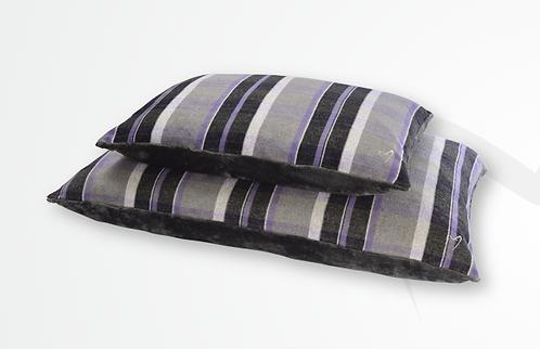 Gor Pets Camden Comfy Cushion - Purple Check