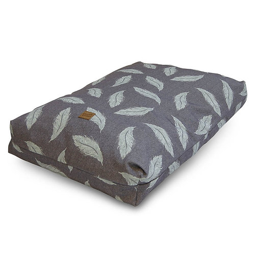 Danish Design Retreat Eco-Wellness Feather Grey/Duck Egg Duvet Bed