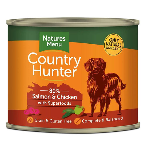 Natures Menu Country Hunter Salmon & Rasberry 600g