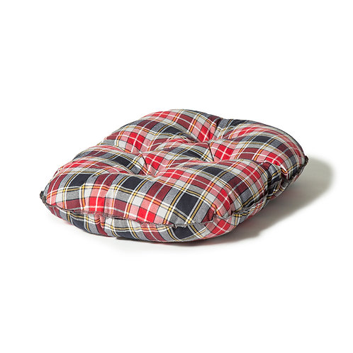 Danish Design Lumberjack Quilted Mattress - Red/Grey