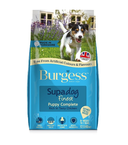 Burgess Puppy Chicken 12.5kg