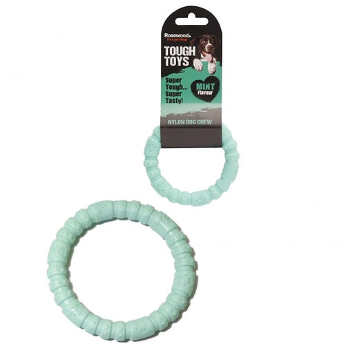 Rosewood Tough Toys Nylon Mint Ring Small