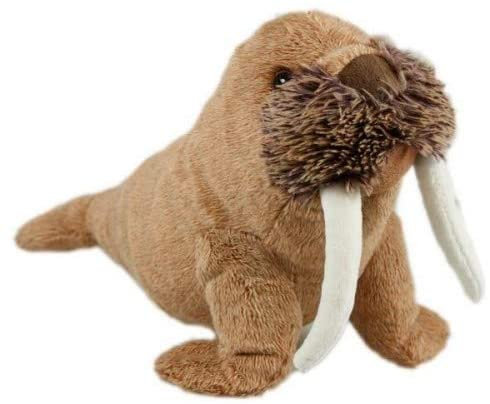 Animal Instincts Snow Mates Winston Walrus Dog Toy - Small