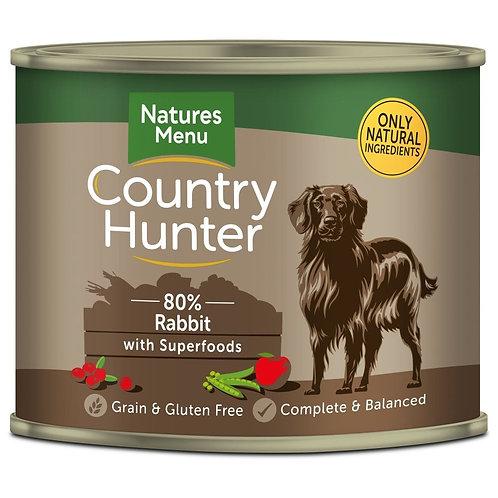 Natures Menu Country Hunter Rabbit Dog Food 600g
