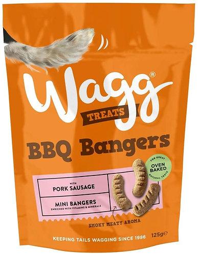Wagg BBQ Bangers Treats 125g
