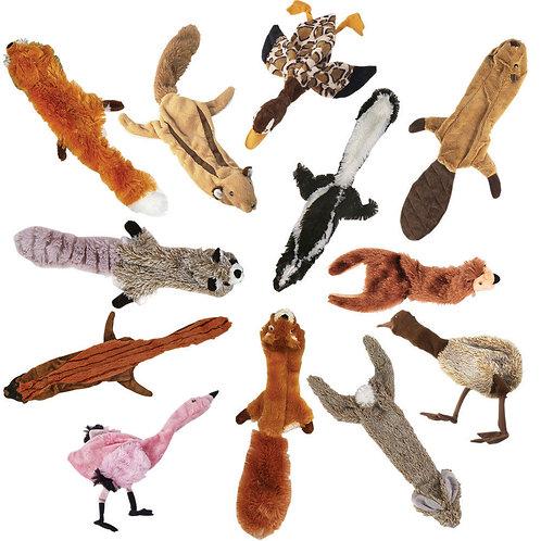 Skinneeez Flat Stuffing Free Toys