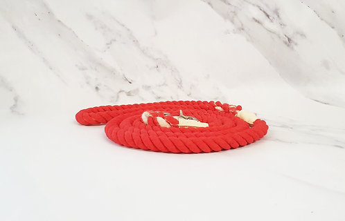 Collared Creatures Orange Ombre Dip Dyed Dog lead