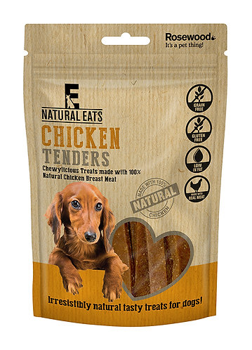 Rosewood Natural Eats Chicken Tender Strips 80g