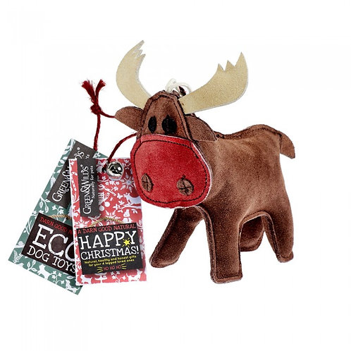 Green & Wilds Rudy Reindeer Eco Dog Toy