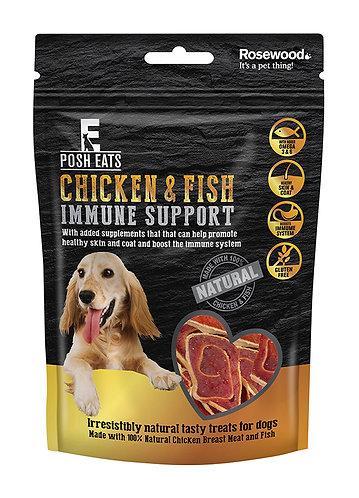 Rosewood Posh Eats Chicken & Fish Immune Support Rolls 80g