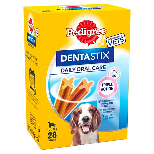 Pedigree Dentastix (28Stick) Medium