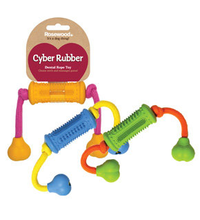 Rosewood Cyber Rubber Dental Roller w/ Rope