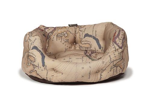 Danish Design Vintage Maps Deluxe Slumber Bed