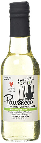 Woof & Brew Pawsecco Pet-House White Wine, 250 ml