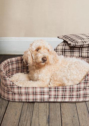 Danish Design Classic Check Slumber Dog Bed