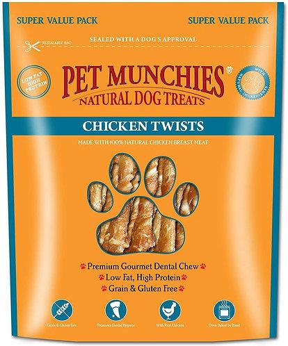 Pet Munchies Chicken Twists 290g