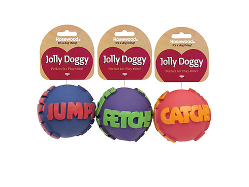 Rosewood Jolly Doggy My Word Ball Toy