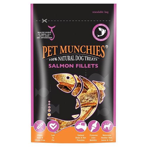 Pet Munchies Salmon Fillets 90g