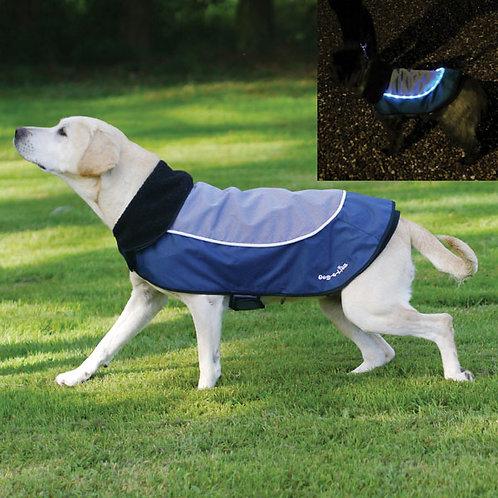 Rosewood Night Bright LED Dog Jacket