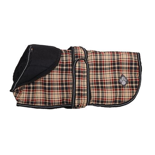 Danish Design Luxury Classic Check Dog Coat