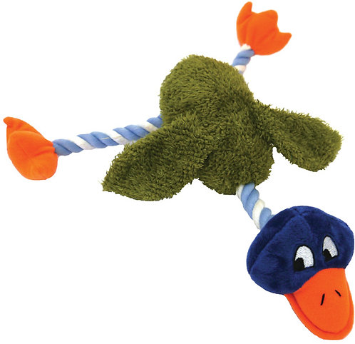 Rosewood Mister Twister Delia Duck Toy