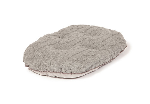 Danish Design Bobble Pewter Quilted Mattress Dog Bed