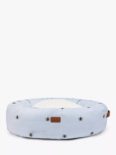 Joules Ticking Bee Doughnut Bed