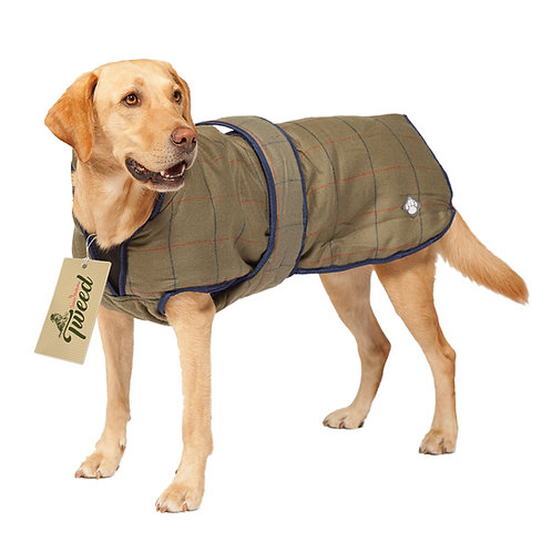 Danish Design Tweed Dog Coat