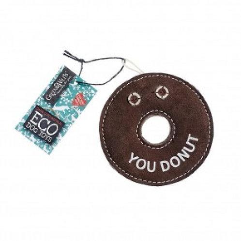 Green & Wilds Derrick Donut Eco Dog Toy