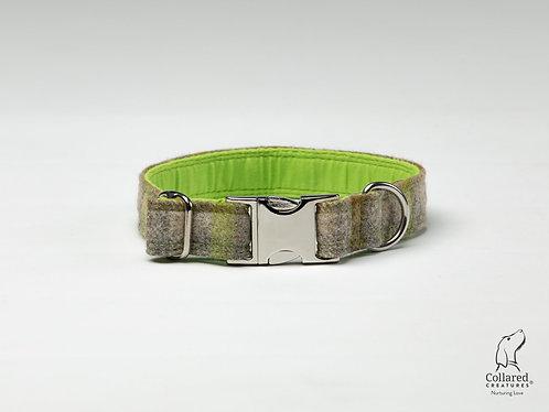 Collared Creatures Abraham Moon, Bibury-Lichen, Luxury Dog Collar