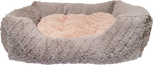 Rosewood Pink & Grey Square Sleeper - Medium