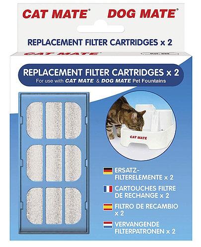 PetMate Replacement Filter Cartridges 2pcs