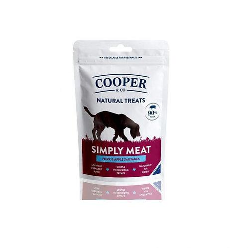 Cooper & Co. Pork and Apple Sausages Dog Treats 100g