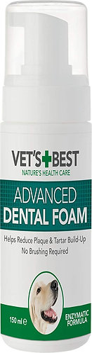 Vets Best Dental Foam 150ml