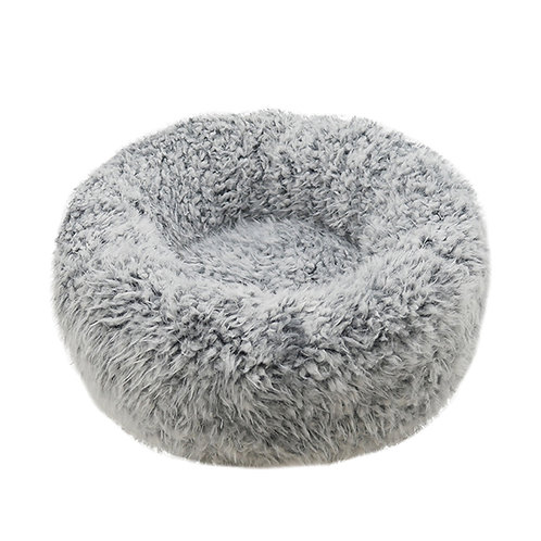 Rosewood Silver Fluff Comfort Round Bed - Small