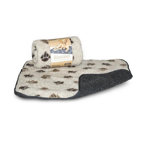 Danish Design Sherpa Fleece Beige Pet Blanket