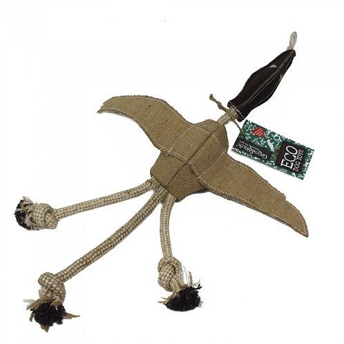 Green & Wilds Eco Dog Toy - Desmond Duck