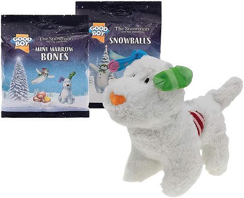 GoodBoy - Snowdog Kennel with Toy & Dog Treats