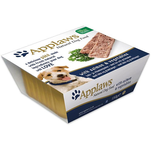 Applaws Dog Pate Salmon With Vegetables 7x150g