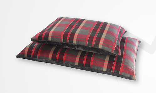 Gor Pets Camden Comfy Cushion - Red Check