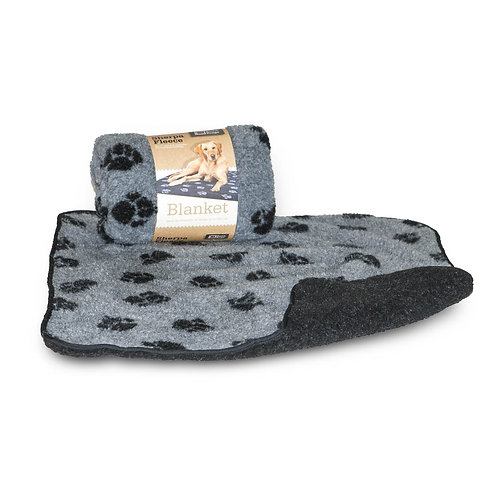 Danish Design Sherpa Fleece Grey Pet Blanket