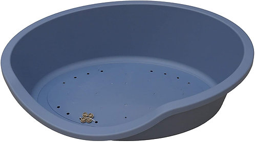 Rosewood Eco Line Recycled Plastic Pet Bed 60/Small, Slate Blue