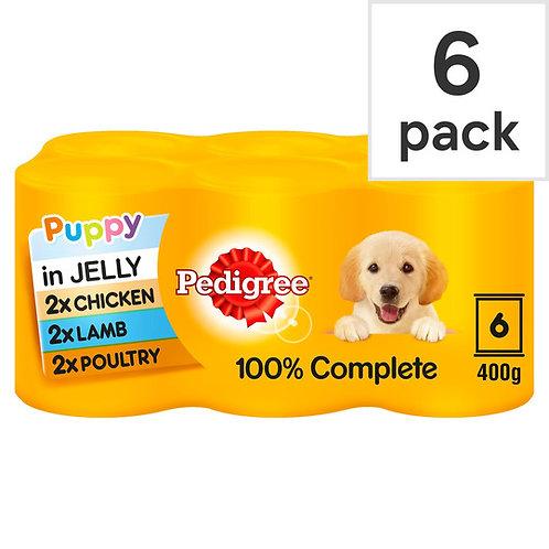 Pedigree Puppy in Jelly 6x400g