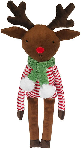 Rosewood Rudolph Reindeer Dog Toy
