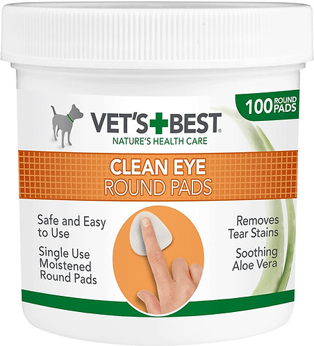 Vet's Best Eye Cleaning Pads for Dogs